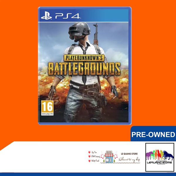 Đĩa Game PS4: PlayerUnknown's Battlegrounds